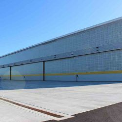hanger metal siding installation seamless metal roofing commercial industrial