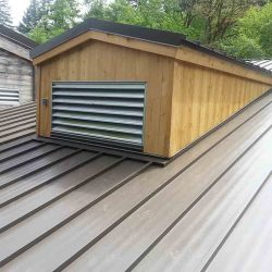 Commercial Roofing Services - Evergreen State College Long House