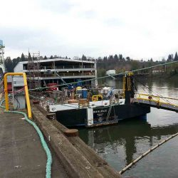 Barge Roofing Services - Matson Barge Project