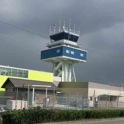 flight control tower composite panels metal roofing installation